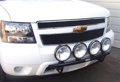 CHEVY03-06Silverado 1500 2WD / 4WD (Not HD)Light Bar w/4 mounting tabsBlack Powder Coat75-22010