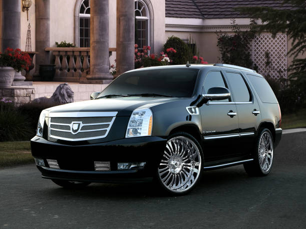Asanti  Cadillac Escalade Complete Grille & Styling Kit