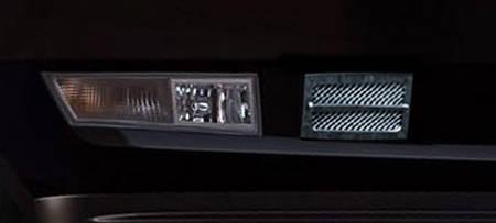 Lexani Cadillac Escalade Bumper Grille - Chrome