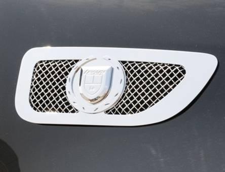 Lexani Cadillac Escalade Side Vents - Chrome