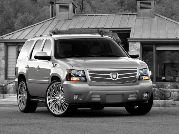 Asanti  Chevy Tahoe/Suburban/Avalanche Complete Grille & Styling Kit