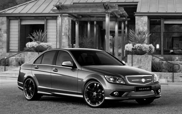 Asanti  Mercedes-Benz C-Class Sports Sedan Complete Grille & Styling Kit