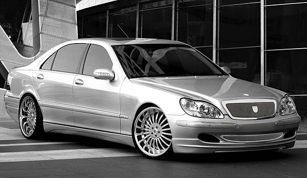 Asanti  Mercedes-Benz S-Class Complete Grille & Styling Kit