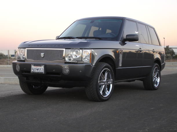 Asanti Land Rover Range Rover Complete Grille & Styling Kit