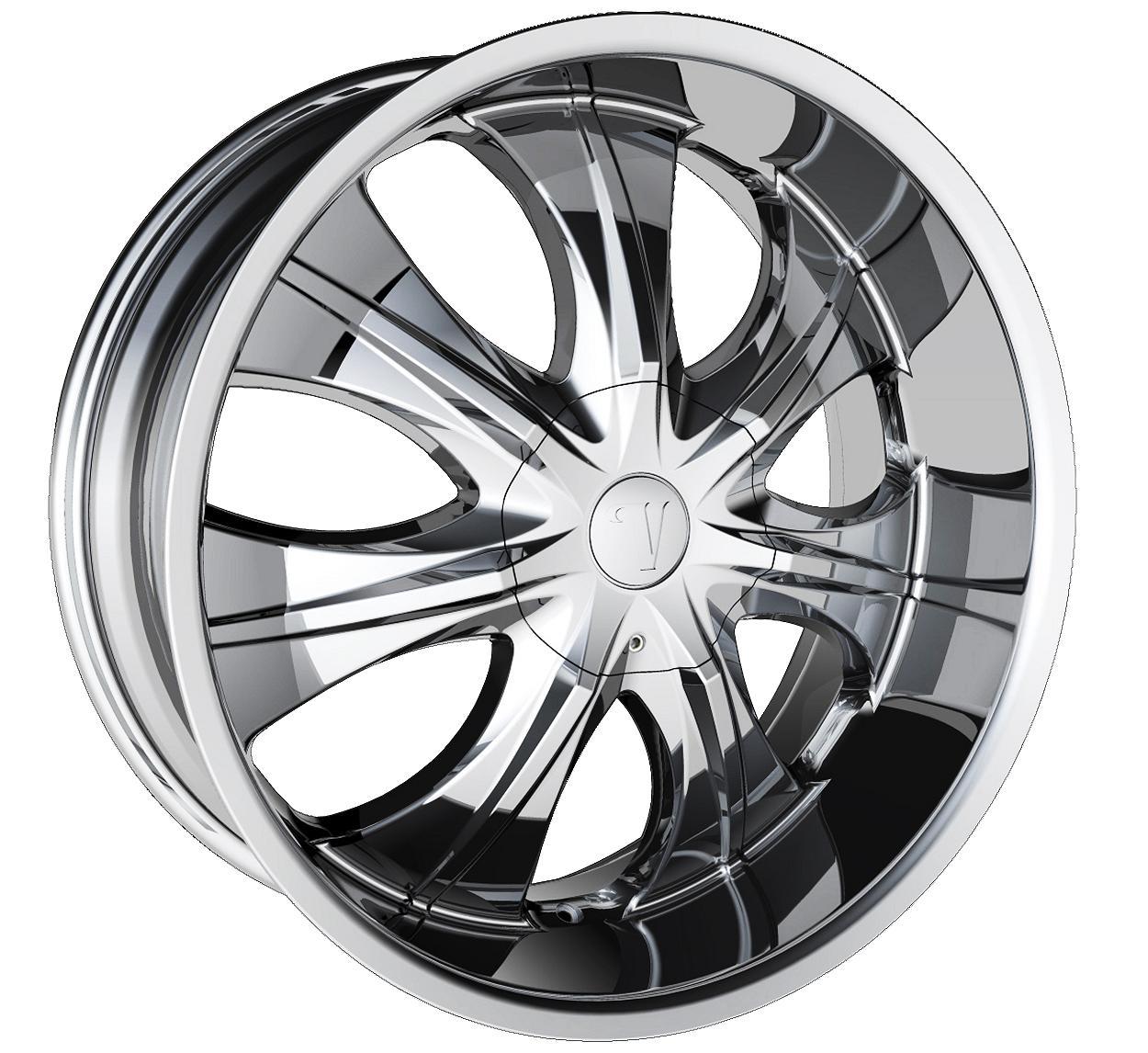 Velocity V750 Chrome wheels