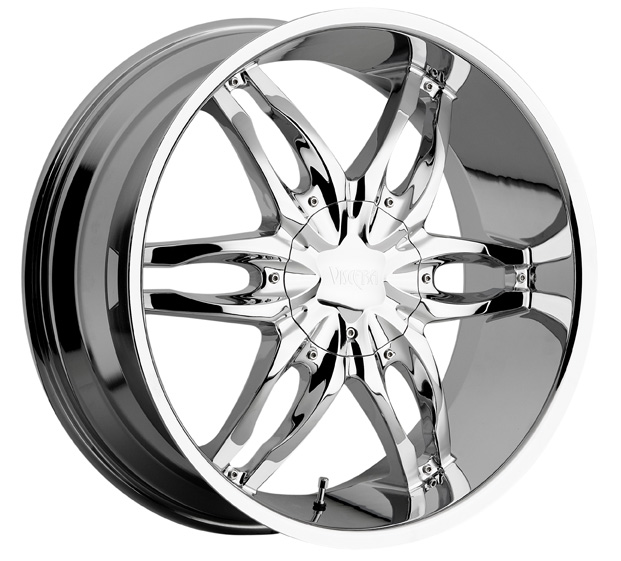"26"" Viscera Series 778 Chrome Package"