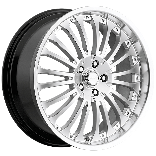 "20"" Menzari Series Z02 Silver Package"