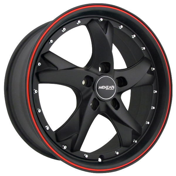 "20"" Menzari Series Z11 Black Package"