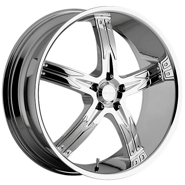 "22"" Devino Road Concepts Series 762 Chrome Package"