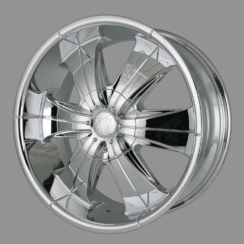 """24"""" Velocity Series 166 Chrome Package"""