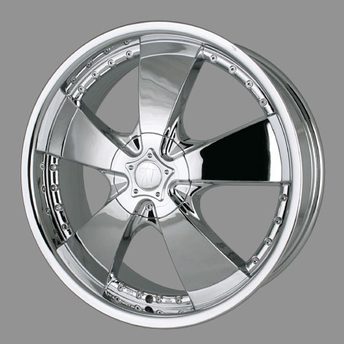 "24"" Velocity Series 190 Chrome Package"