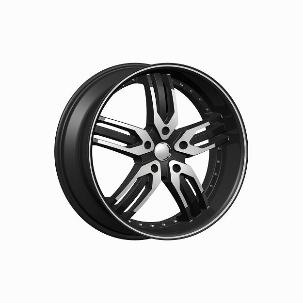 """24"""" F5 Series 125 Black and Machined Package"""
