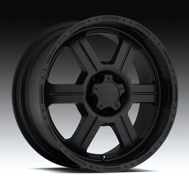 "17"" V-TEC Series 372 Black Package w/ 33"" Tires"