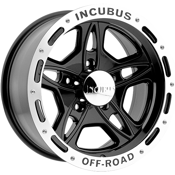 "17"" Incubus Alloys Series 511 Black w/ 33"" Tires"