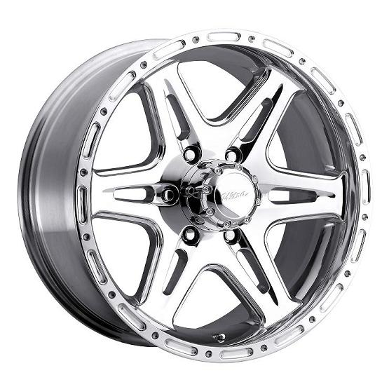 "17"" Ultra Series 208 Polished Badlands w/ 33"" Tires Package"