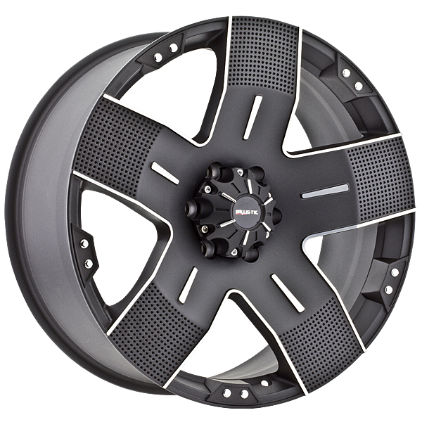 "18"" Ballistic Offroad Series 901 Black w/ 33"" Tires Package"