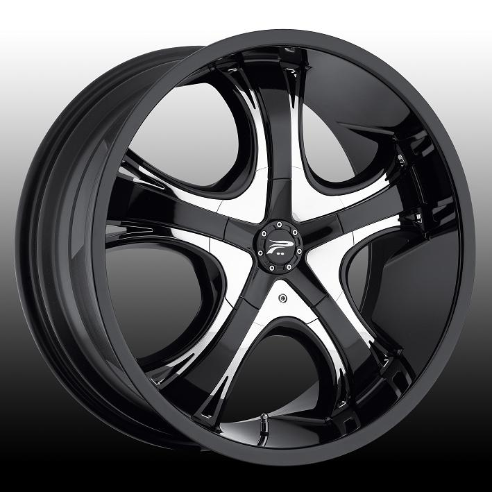 "20"" Platinum Series 415 Black Package"