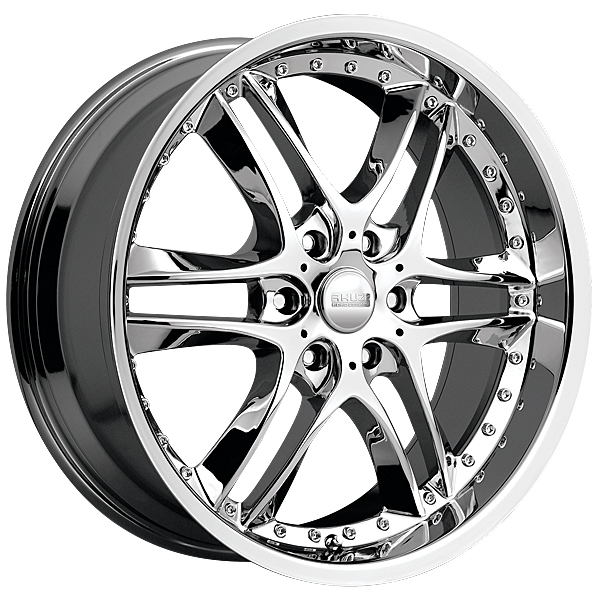 """22"""" Akuza Road Concepts Series 381 Chrome Package"""