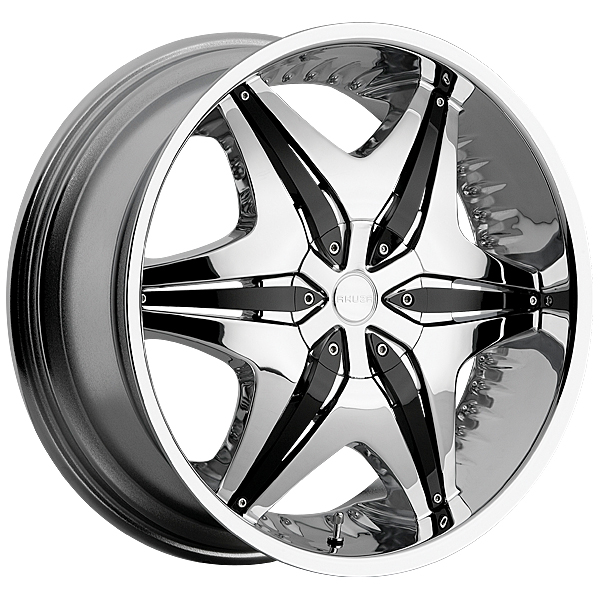 "22"" Akuza Road Concepts Series 712 Chrome Package"