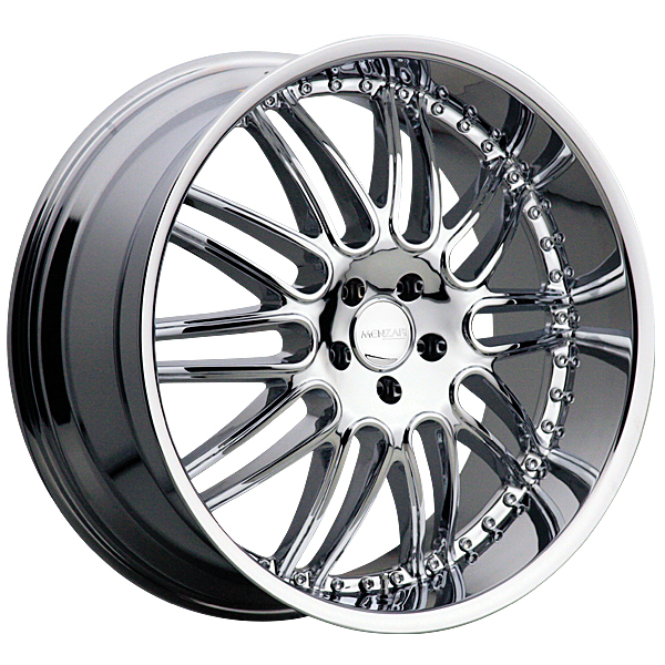 "22"" Menzari Series Z10 Chrome Package"