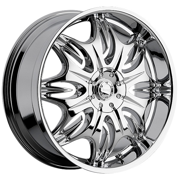 """24"""" Incubus Alloys Series 716 Chrome Package"""