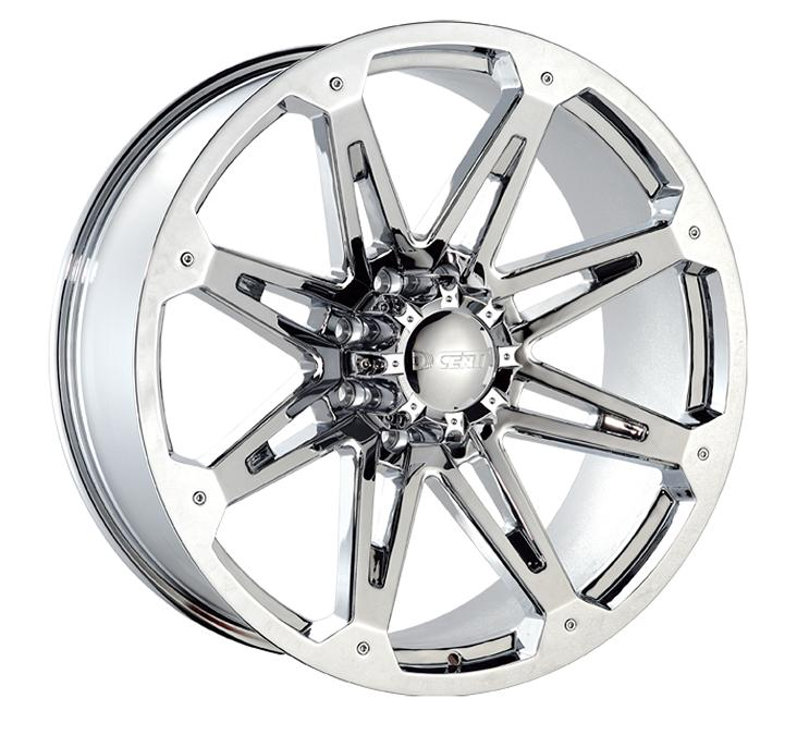"""26"""" Dcenti Series DW901 Chrome Package"""