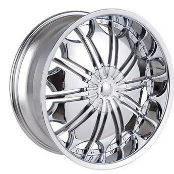 "28"" Tyfun Series 706 Chrome Package"