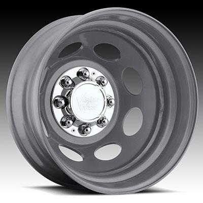 Vision Steel Silver Dually Wheels Wheels Jk Motorsports