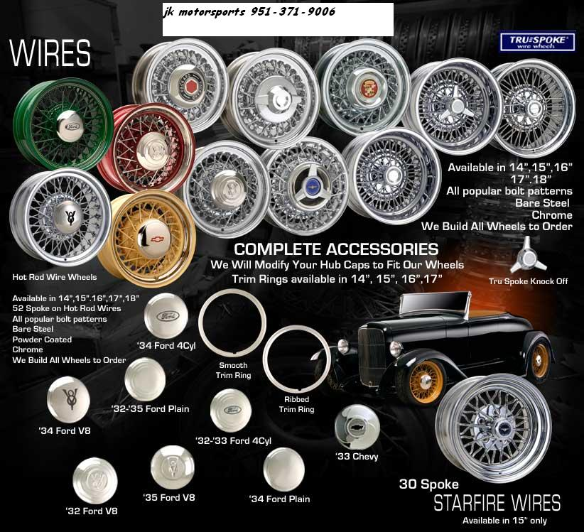 Vintage Wheels Wires