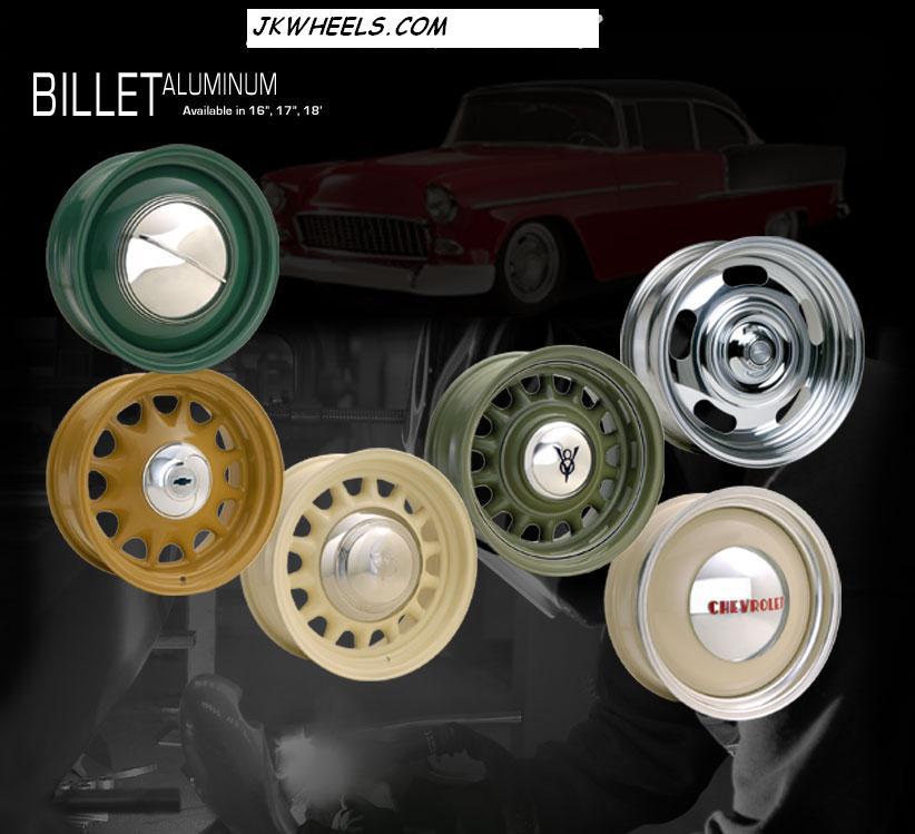 Vintage Wheels Billet Aluminum