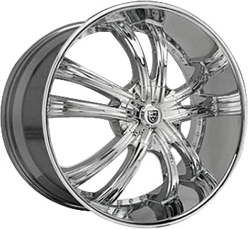 Lexani LSS 55 Chrome