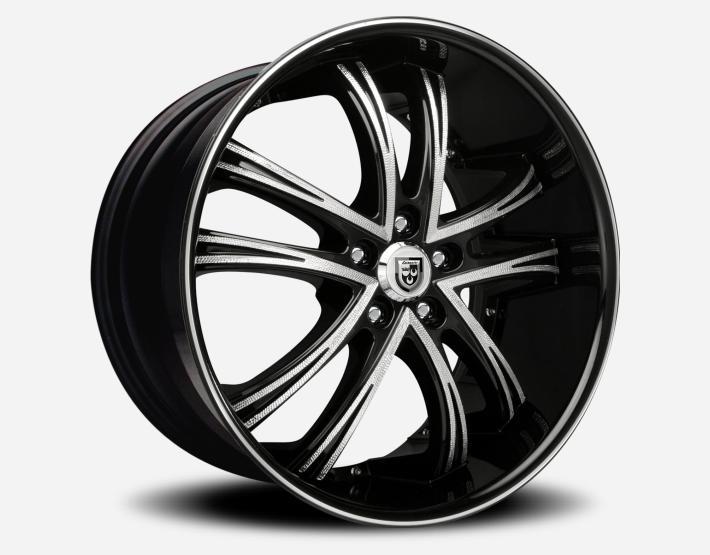 Lexani LSS 55 Black