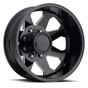 "American Eagle Wheels 20"" 059 Dually  Gloss Black Milled Windows"