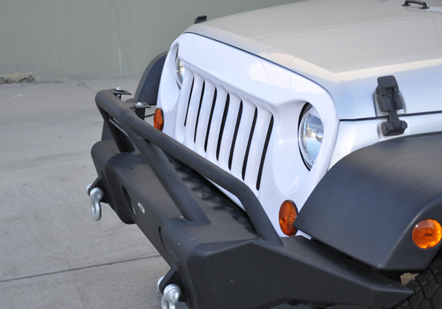 DV8 Off Road ABS Grill Paintable White