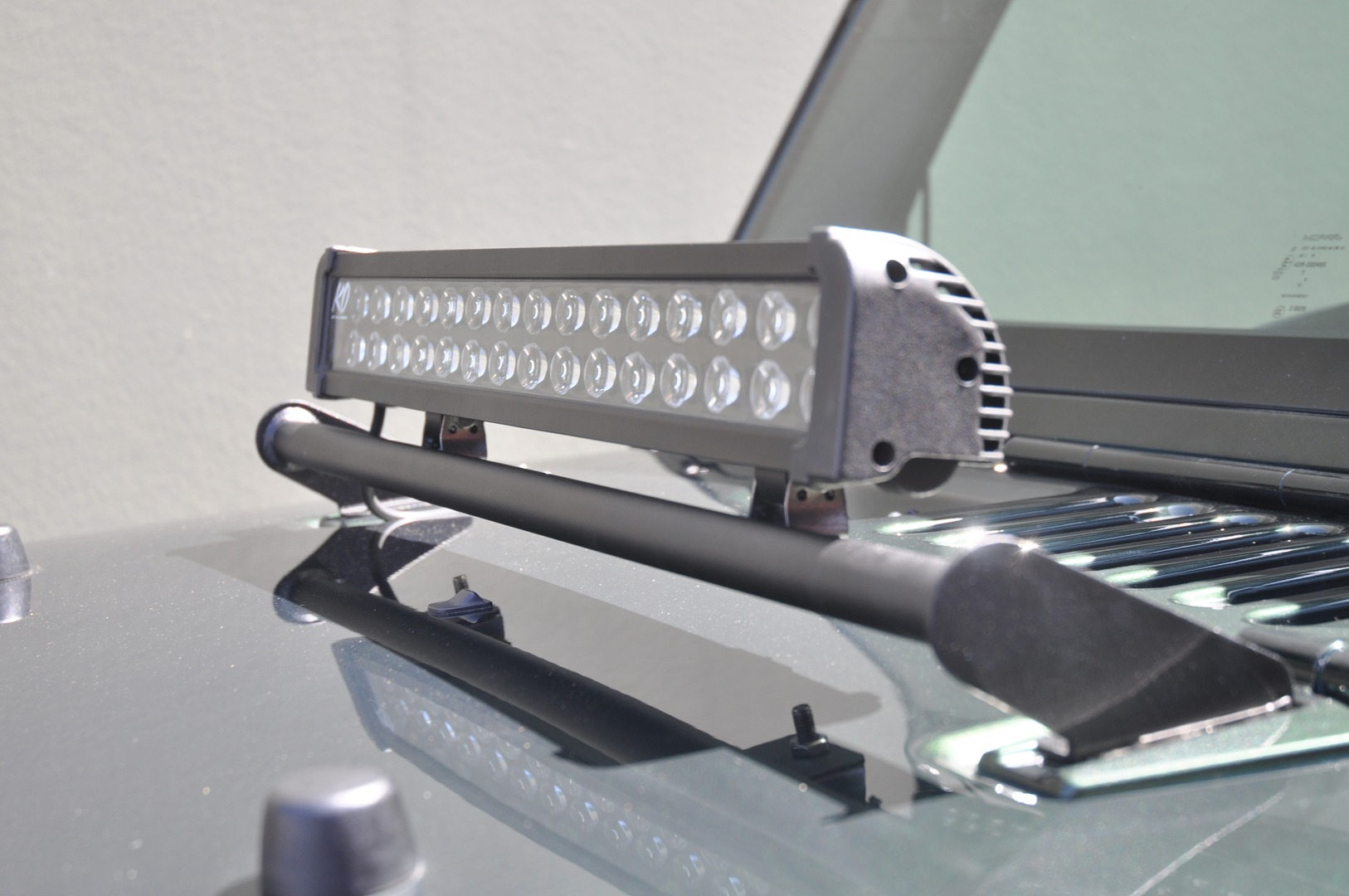 DV8 Off Road L-3 Light Bar Mount