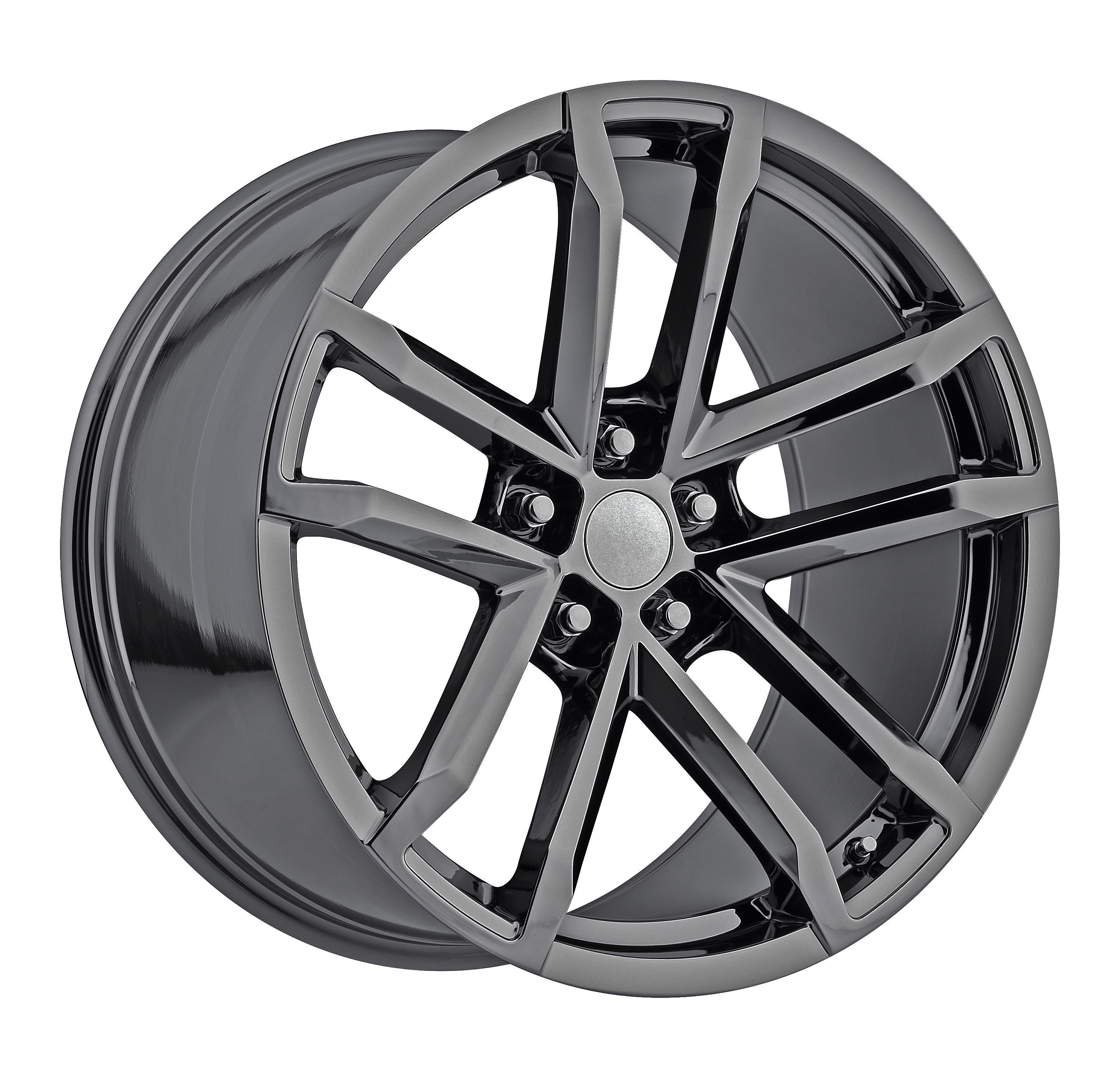 2012 Chevrolet Camaro ZL1 PVD Black Chrome Replicas
