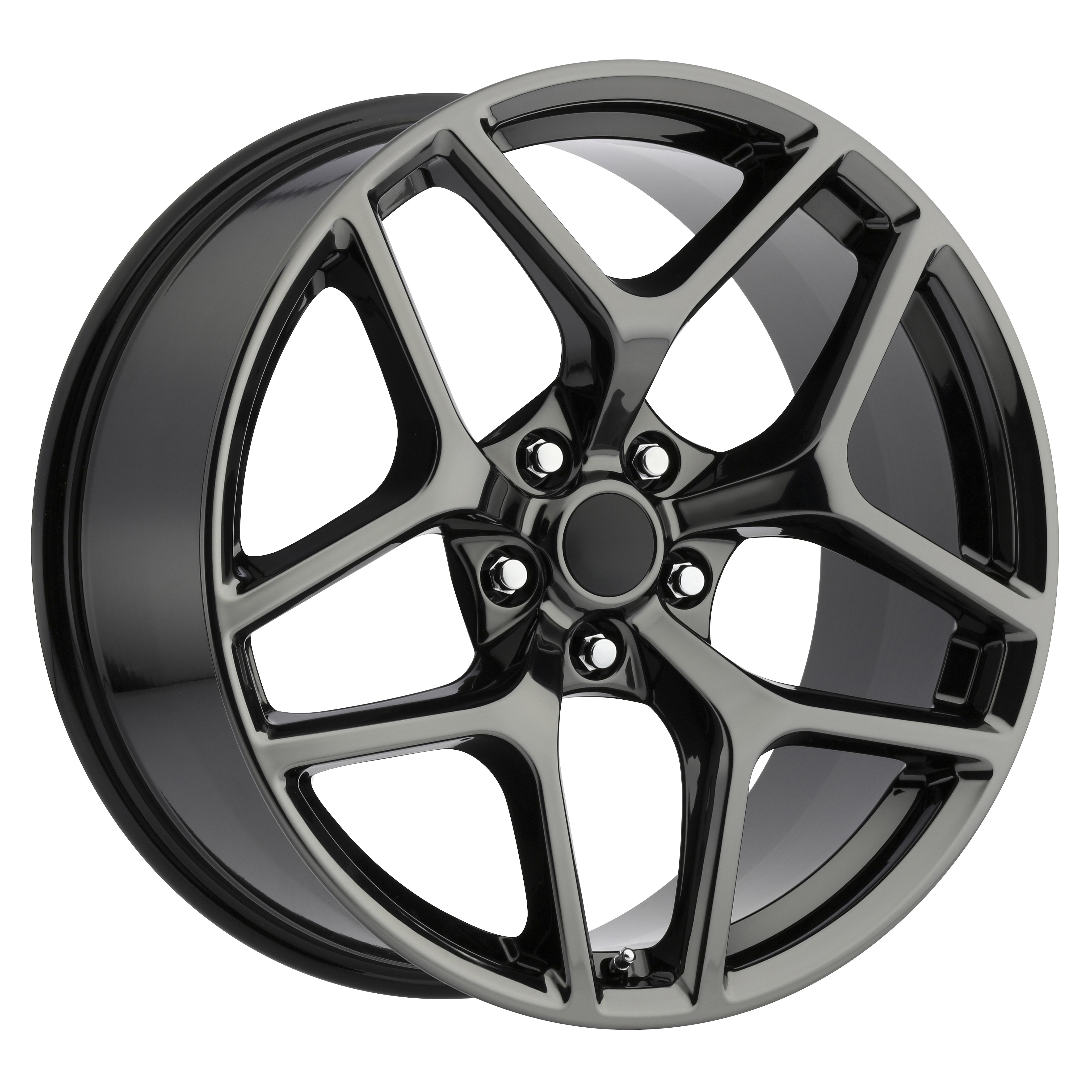 Chevrolet Camaro Z28 PVD Black Chrome Replicas