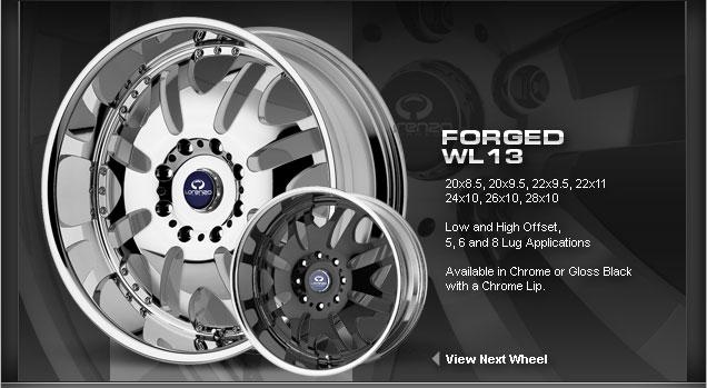 Lorenzo Forged WL13