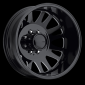 "American Eagle Wheels 19.5"" 0569 Dually  Gloss Black Milled Windows"