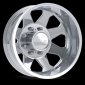 "American Eagle Wheels 059 20"" Duallys, Dodge Only"