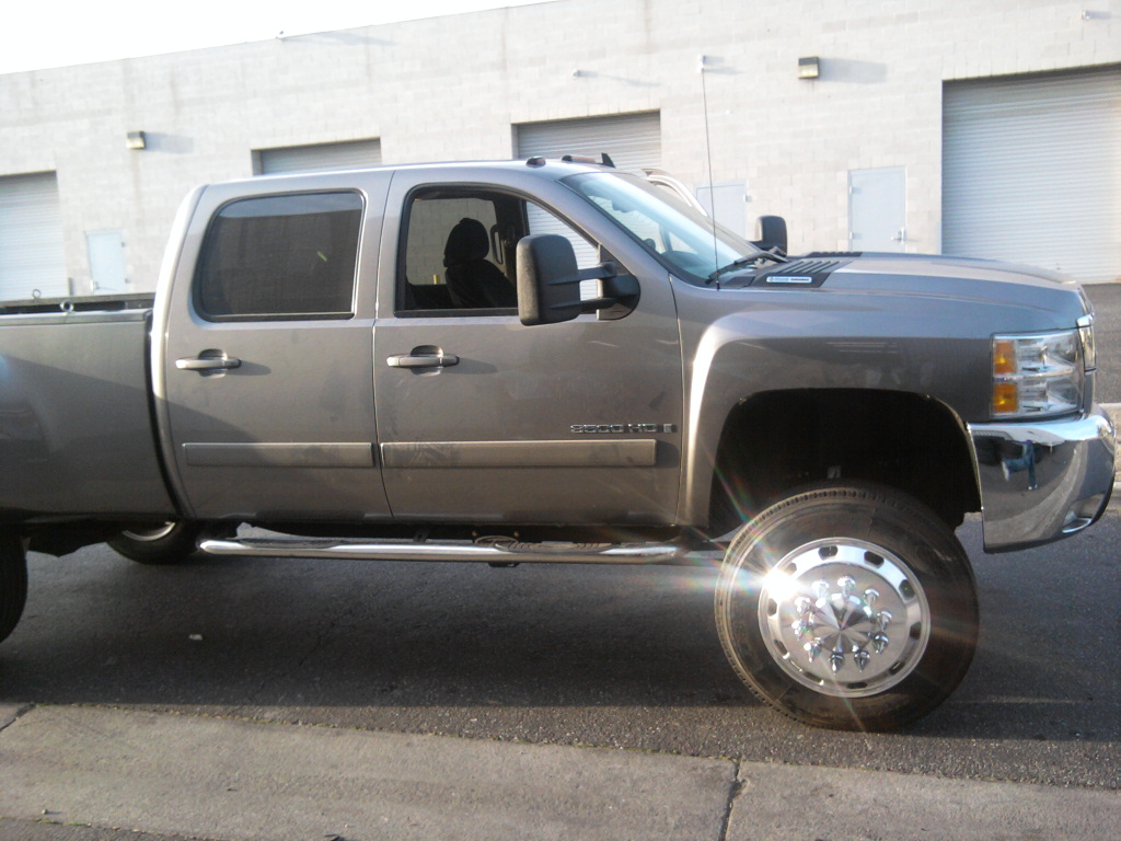 2008 Chevy 3500, 255/70-22.5(36.6\
