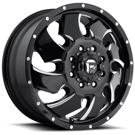 Fuel Off Road Clever Dually Wheels Wheels Jk