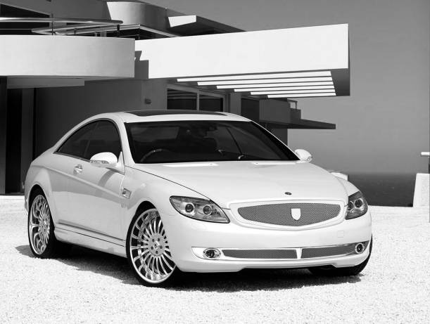 Asanti  Mercedes-Benz CL550 Complete Grille & Styling Kit