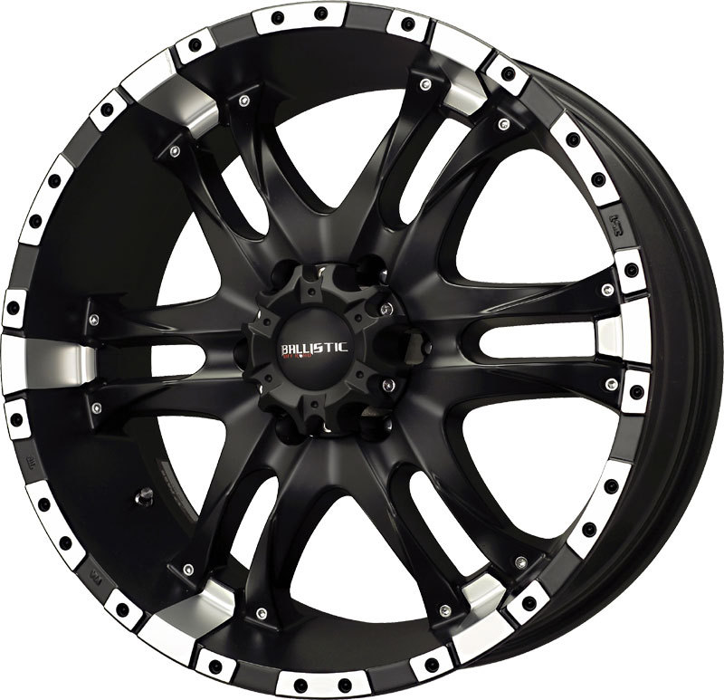 20 Quot Ballistic Offroad Wizard W 33 Quot Tires Package Wheels