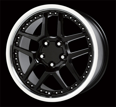 Wheel Replicas Corvette Z06 Black 1133 Wheels Jk