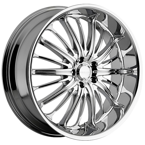"""22"""" Akuza Road Concepts series 761 Chrome Package"""