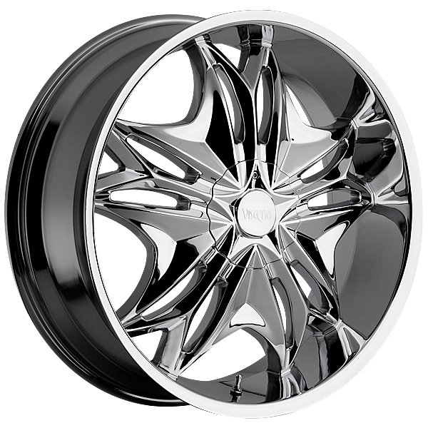 "22"" Viscera Series 728 Chrome Package"