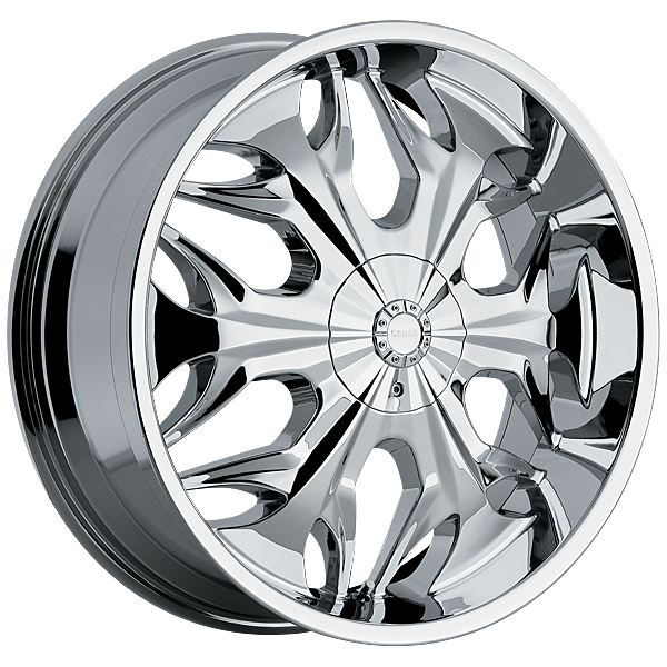 "22"" Akuza Road Concepts Series 508 Chrome Package"