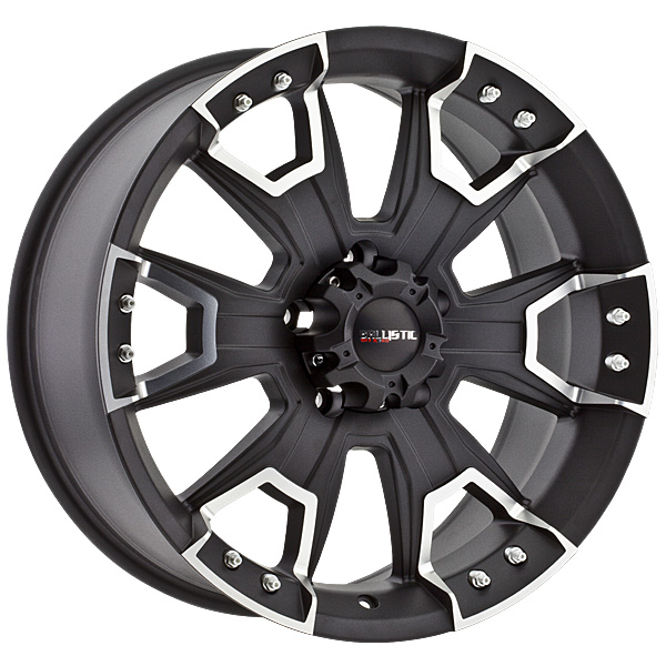 "20"" Ballistic Offroad Series 904 Black Package"