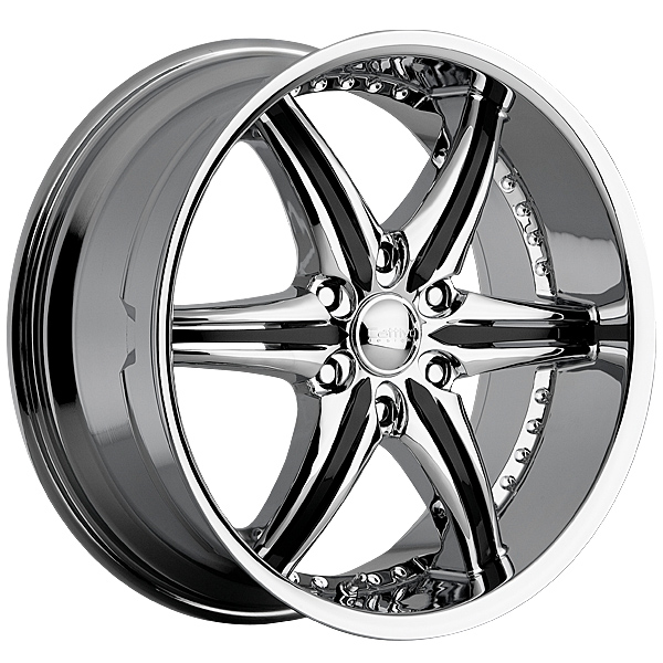 "22"" Cattivo Series 724 Chrome Package"